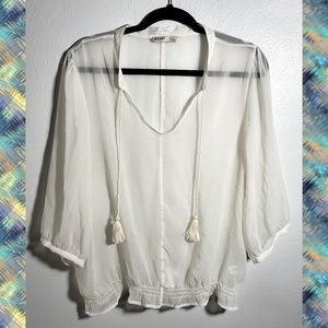 Old Navy Sheer Long Sleeve